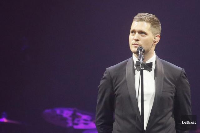 Le chanteur canadien a récemment lancé un nouvel... (Archives Le Droit)