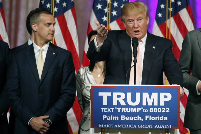 Le directeur de campagne de Donald Trump, Corey Lewandowski,... (PHOTO JOE SKIPPER, ARCHIVES REUTERS)
