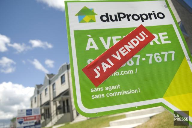 La FCIQ soutient que DuProprio diffuse des publicités... (Eve Leclerc, archives La Presse)