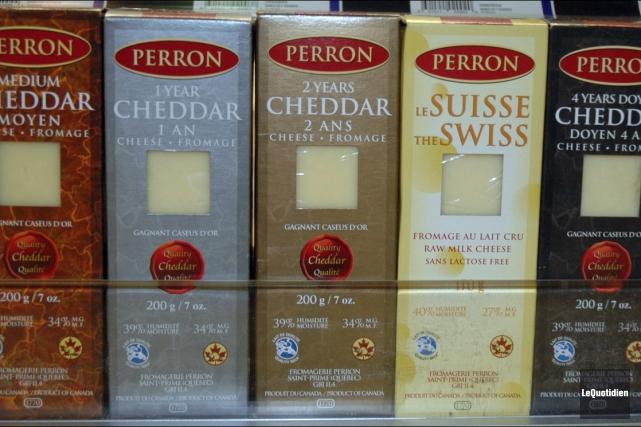 La Fromagerie Perron offre une vaste variété de... (Archives Le Quotidien)