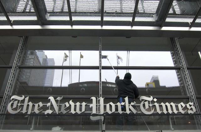 LeNew York Timesa maintenu une rédaction de quelque... (ARCHIVES REUTERS)