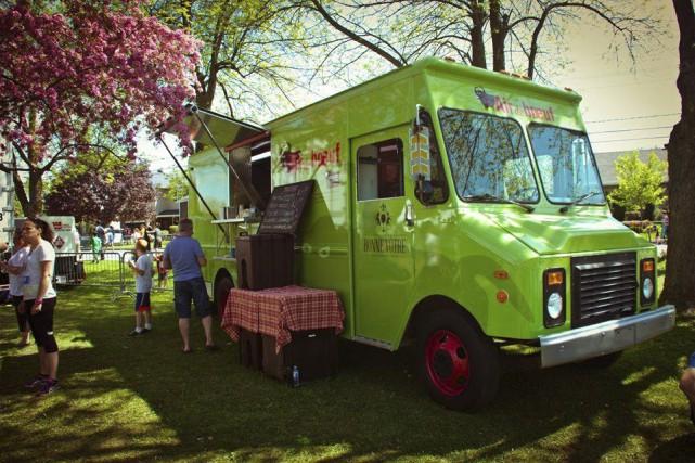 Le camion de cuisine de rue L'air de... (Image tirée de facebook)