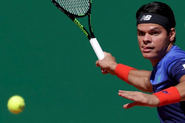 Milos Raonic affrontera Andy Murray au prochain tour.... (Agence France-Presse)