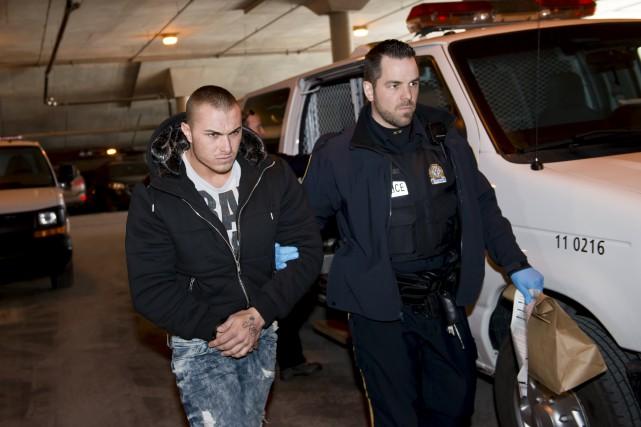 Toby Ward a été arrêté chez lui lorsque... (Spectre Média, Jessica Garneau)