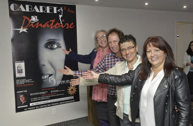 La comédienne Sylvie Legault a accepté de participer... (Spectre Média, Maxime Picard)