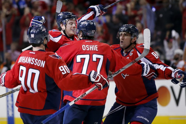 Les Capitals ont tiré profit d'un but de... (Associated Press)