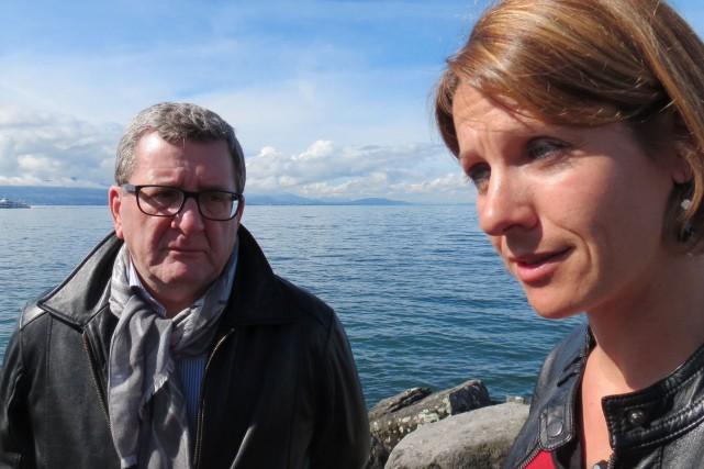 Régis Labeaume s'est entretenu avec la biologiste et... (Collaboration spéciale Valérie Gaudreau)