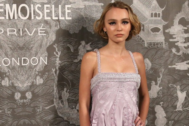 Lily-Rose Melody Depp... (PHOTO ARCHIVES AP)