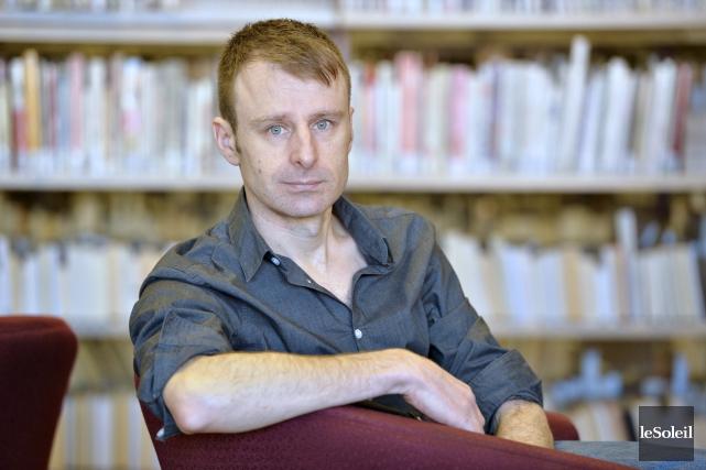 Nicolas Dickner est l'auteur de Nikolski, de Tarmac... (Le Soleil, Pascal Ratthé)