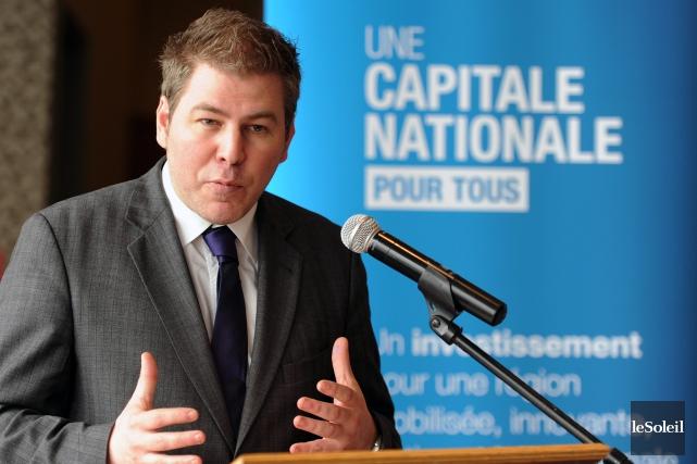 Pascal Bérubé... (Photo Érick Labbé, archives Le Soleil)