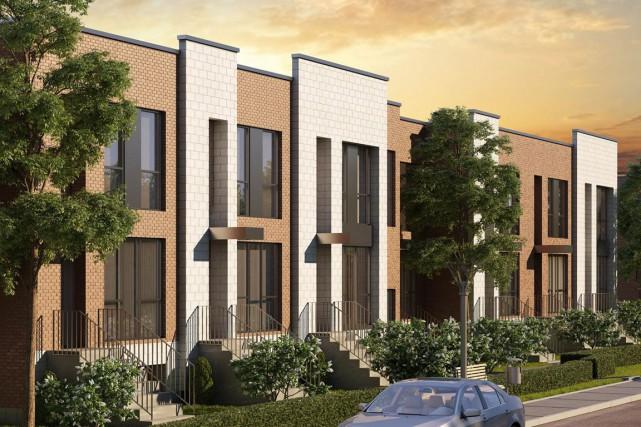 Le projet Parc aux Tilleuls comptera 69 maisons... (ILLUSTRATION FOURNIE PAR DUPIN + DESPRÉS)