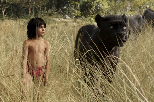 Mowgli (Neel Sethi) est entouré d'animaux plus vrais... (Fournie par Buena Vista)
