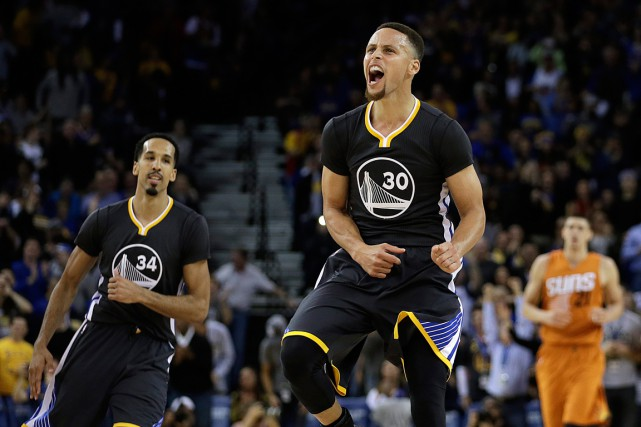 Stephen Curry des Warriors de Golden State... (PHOTO BEN MARGOT, ARCHIVES AP)