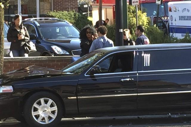 La chanteuse Diana Ross a été blessée dans un accident de la route, mercredi,... (PHOTO AP)