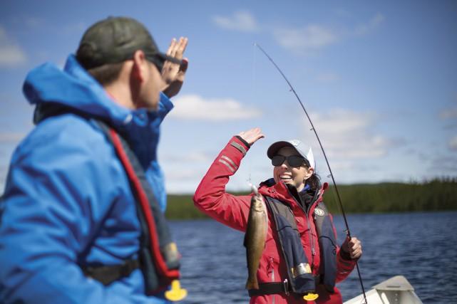 Pêche et villégiature dans les réserves faunique, c'est... (PHOTO FOURNIE PAR LA RÉSERVE FAUNIQUE DE PORT-CARTIER-SEPT-ÎLES, SÉPAQ)