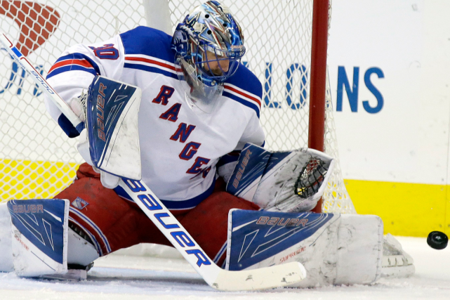 Henrik Lundqvist... (Photo LM Otero, archives AP)