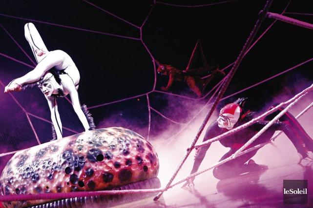 Le Cirque du Soleil a annoncé vendredi que... (Photothèque Le Soleil, Yan Doublet)