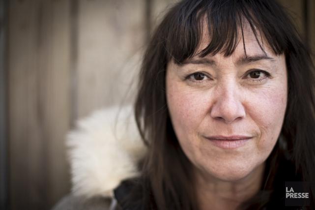 La Trifluvienne Chloé Leriche a réalisé le premier... (La Presse)