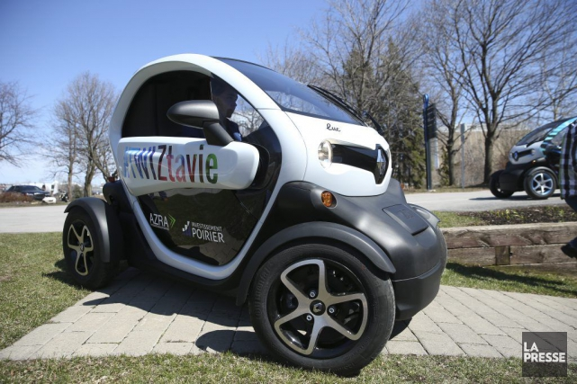 renault lance son v hicule lectrique twizy au canada 99 mois nouvelles. Black Bedroom Furniture Sets. Home Design Ideas