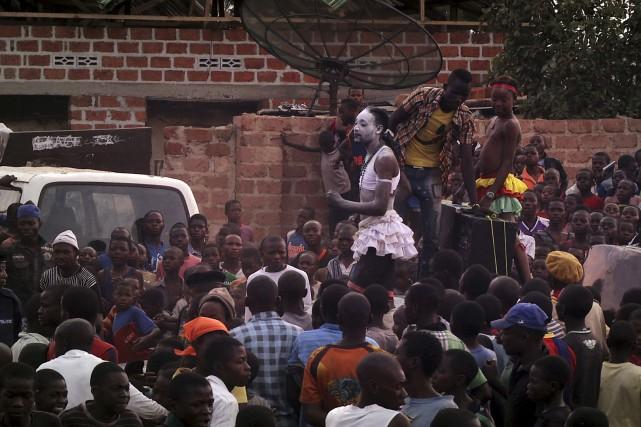 Pour réaliser le documentaireKolwezi On Air,le cinéaste belge... (Courtoisie)