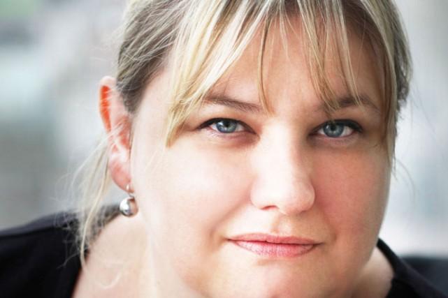 L'auteure Karine Giebel a su d'entrée de jeu... (Courtoisie)
