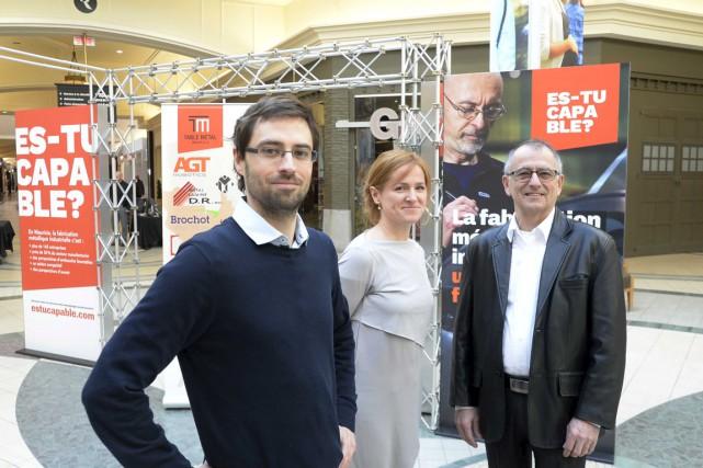 Nicolas Dompierre, directeur de projets, création et stratégie... (Sylvain Mayer)
