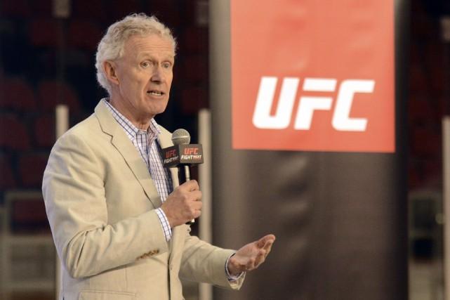 «Pour nous, c'est important que la place soit... (Courtoisie, UFC Canada)