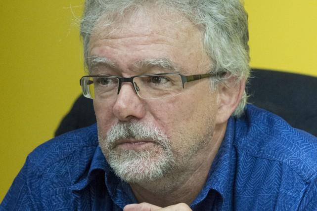 Denis Frappier, conseiller municipal de Saint-Justin.... (Stéphane Lessard)