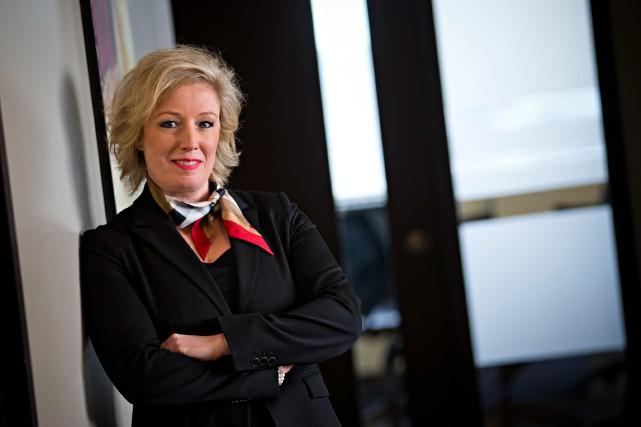 Marie Elaine Farley, avocate de formation, a entamé... (PHOTO PATRICK SANFAÇON, LA PRESSE)