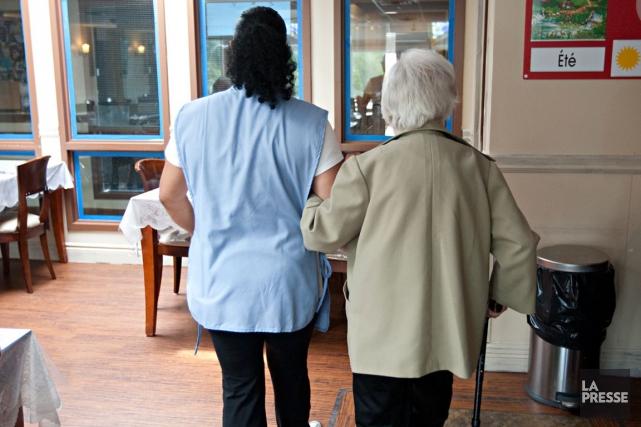 Des résidences privées pour aînés s'insurgent contre ce qu'elles appellent la... (Photo Archives La Presse)