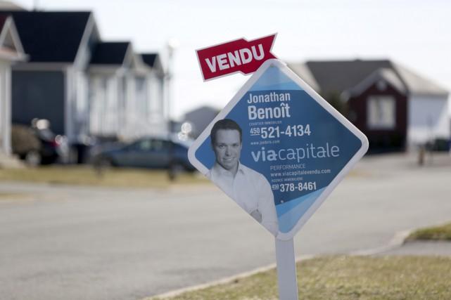 Les ventes dans le secteur résidentiel ont grimpé... (Photo Julie Catudal)