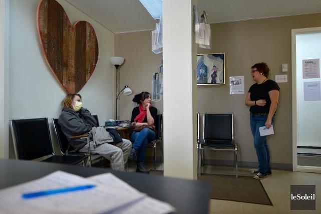 La clientèle toxicomane desservie par la coopérative SABSA... (Photothèque Le Soleil, Yan doublet)