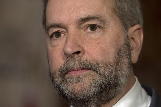 Même si le NPD a déçu aux élections... (Archives La Presse Canadienne)