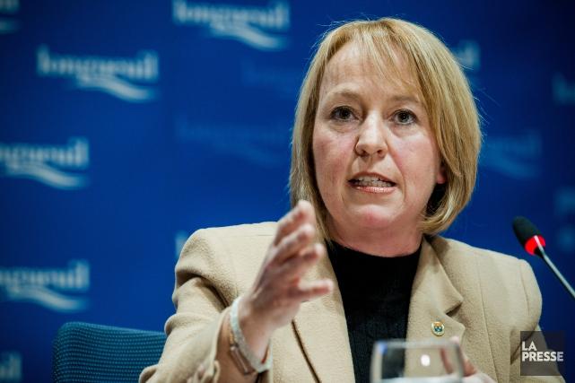 Caroline St-Hilaire, mairesse de Longueuil... (PHOTO EDOUARD PLANTE-FRÉCHETTE, ARCHIVES LA PRESSE)