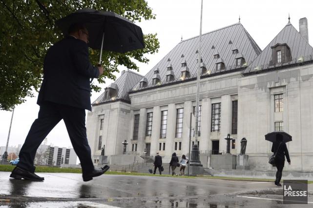 La Cour suprême du Canada à Ottawa... (Archives PC, Sean Kilpatrick)