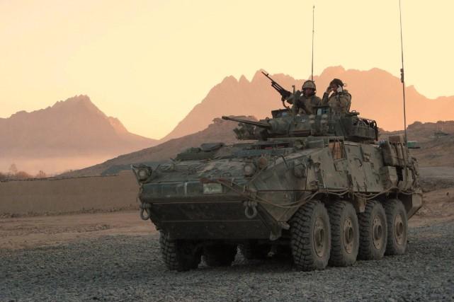 Des soldats canadiens participaient à une opération à... (Photo Bill Graveland, archives La Presse Canadienne)