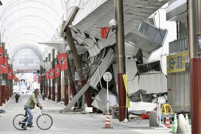 Contrairement au précédent séisme, qui a affecté surtout... (AP)