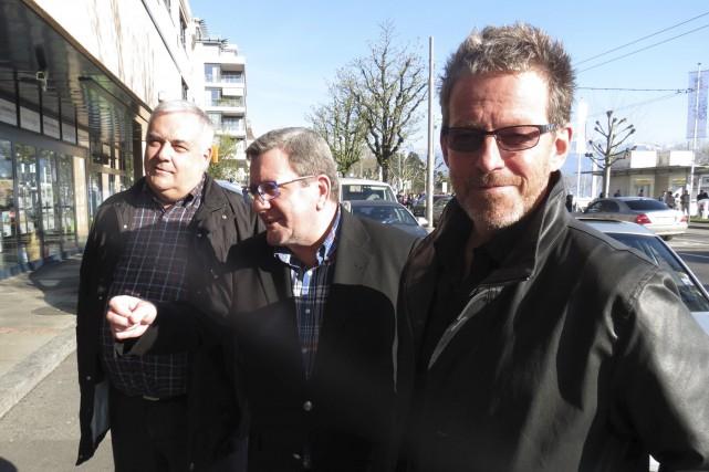 Le cofondateur de Gestev, Patrice Drouin (à droite),... (Collaboration spéciale Valérie Gaudreau)