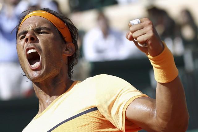 Rafael Nadal tentera de remporterun neuvième titre à... (PHOTO ERIC GAILLARD, REUTERS)