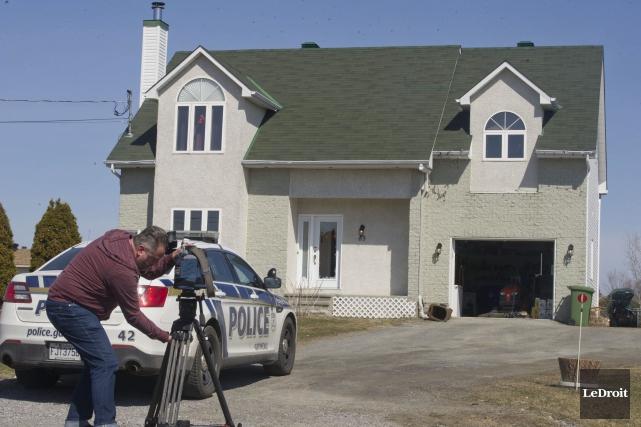 L'agresseur s'est introduit dans une résidence de la... (Martin Roy, LeDroit)