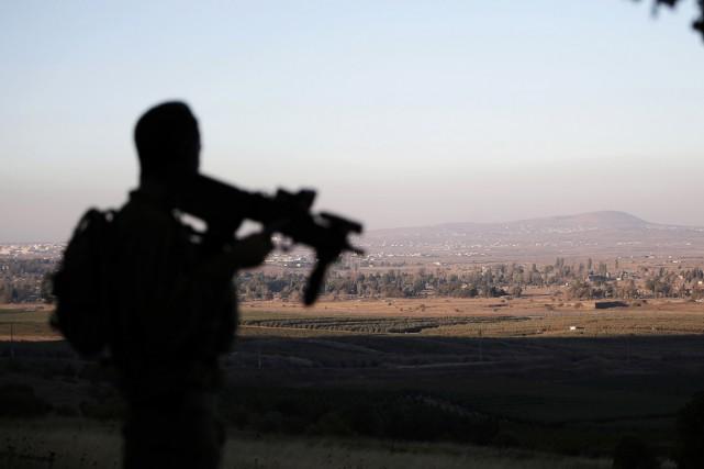 Israël a annexé une partie du plateau du... (Photo AHMAD GHARABLI, archives AFP)