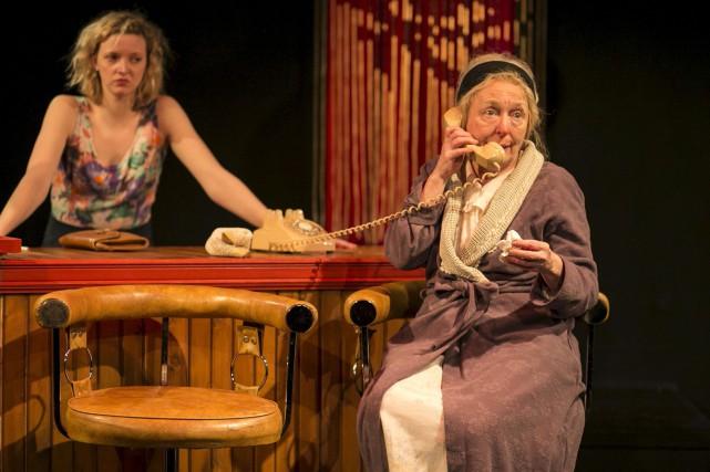 Pilier de la pièce, Marie-Ginette Guay (ici aux... (Cath Langlois photographe)