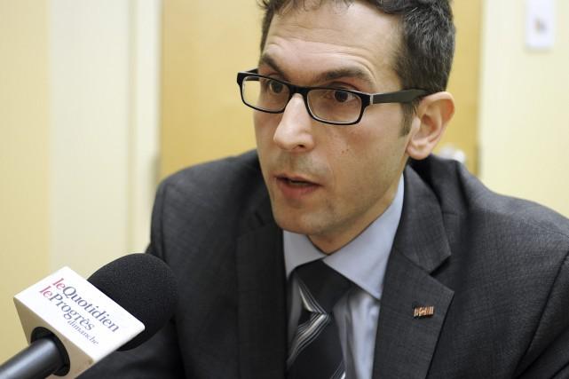 Le directeur provincial de la Fédération canadienne de... (Le Progrès-dimanche, Mariane L. St-Gelais)