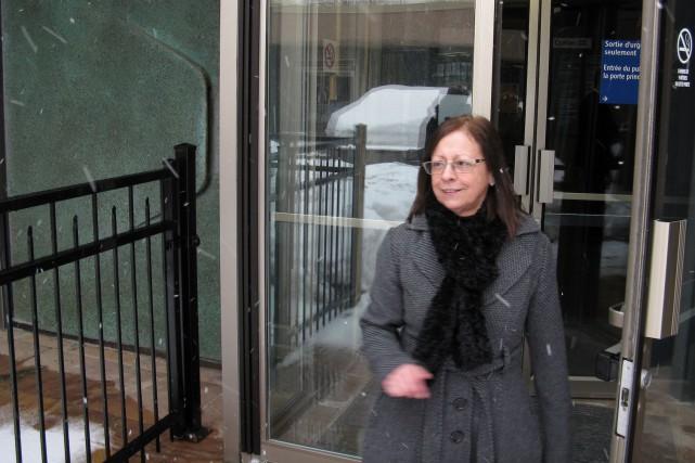 Johanne Johnson a été reconnue coupable.... (Photo collaboration spéciale Geneviève Gélinas)