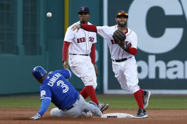 David Price a lancé durant sept manches, Xander Bogaerts a claqué un circuit de... (Photo AP)