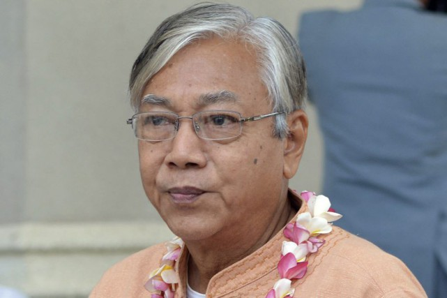 Htin Kyaw... (Photo Aung Shine Oo, archives Associated Press)