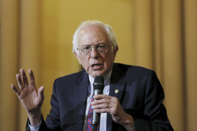 Bernie Sanders... (PHOTO LUCAS JACKSON, REUTERS)