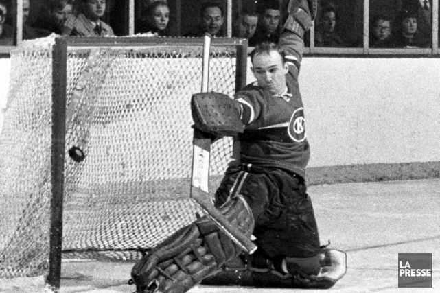 L'ancien gardien du Canadien de Montréal Charlie Hodge s'est éteint à l'âge de... (Photo archives La Presse)