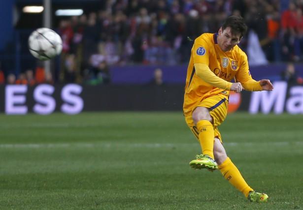 Lionel Messi en action... (Associated Press)
