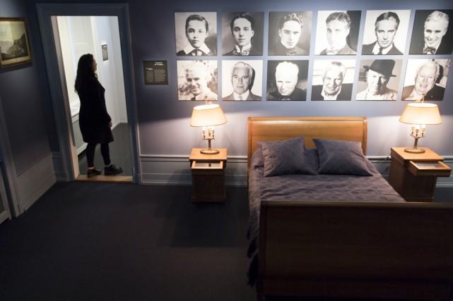 Les visiteurs pourront notamment admirer la chambre où... (Associated Press)